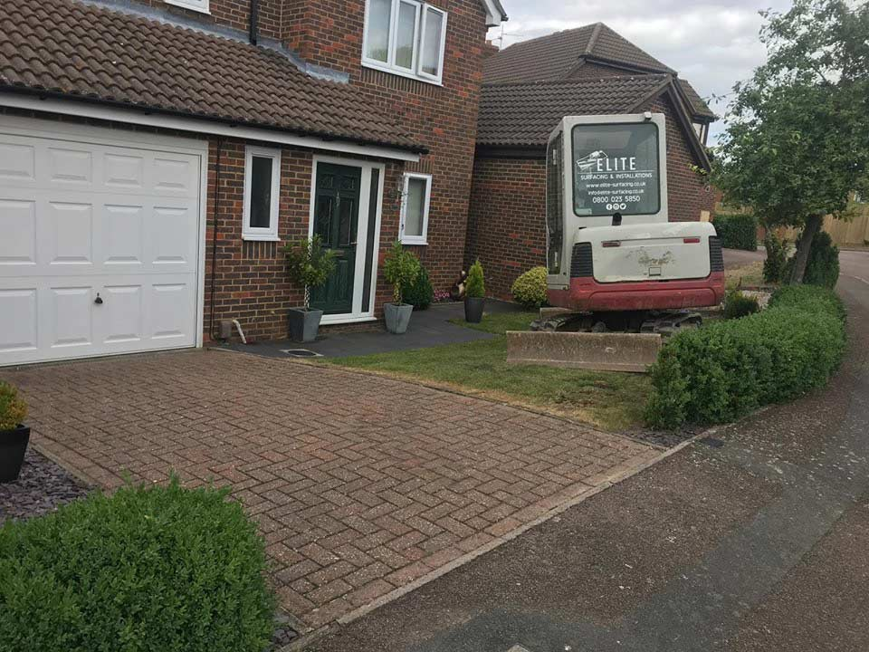 kettering | resin bound driveway and landscaping